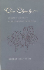Cover image for Two churches: England and Italy in the thirteenth century