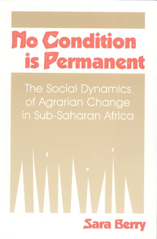 Cover image for No condition is permanent: the social dynamics of agrarian change in sub-Saharan Africa