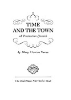 Cover image for Time and the town: a Provincetown chronicle