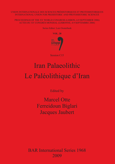 Cover image for Iran Palaeolithic / Le Paléolithique d'Iran: Vol. 28, Session C15