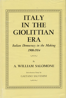 Cover for Italy in the Giolittian era: Italian democracy in the making, 1900-1914