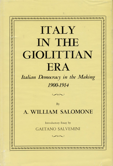 Cover image for Italy in the Giolittian era: Italian democracy in the making, 1900-1914