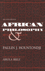 Cover image for African philosophy: myth and reality