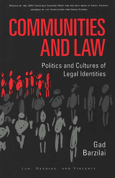 Cover image for Communities and Law: Politics and Cultures of Legal Identities