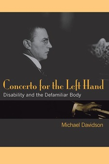 Cover image for Concerto for the Left Hand: Disability and the Defamiliar Body