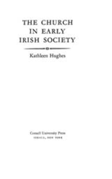 Cover image for The church in early Irish society