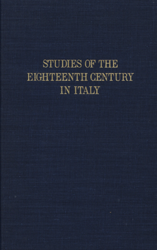 Cover image for Studies of the eighteenth century in Italy