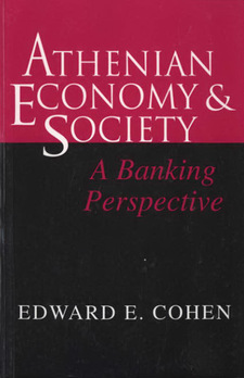 Cover for Athenian economy and society: a banking perspective