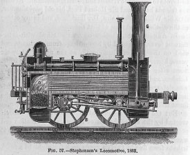 Stephenson's Locomotive