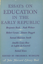 Cover image for Essays on education in the early Republic