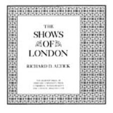 Cover image for The shows of London