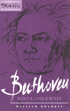 Cover image for Beethoven, Missa solemnis