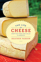 Cover image for The life of cheese: crafting food and value in America