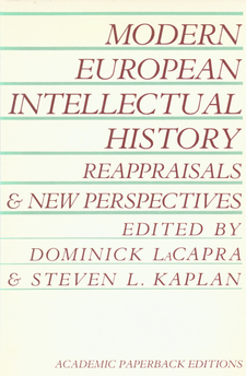 Cover image for Modern European intellectual history: reappraisals and new perspectives