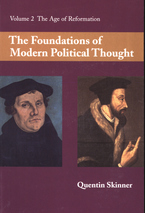 Cover image for The foundations of modern political thought, Vol. 2