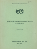 Cover image for The role of women in Tonkinese religion and property
