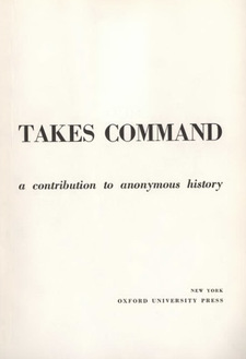 Cover image for Mechanization takes command: a contribution to anonymous history