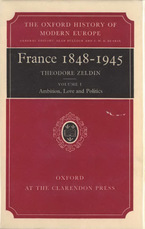Cover image for France, 1848-1945, Vol. 1
