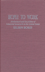 Cover image for Home to work: motherhood and the politics of industrial homework in the United States