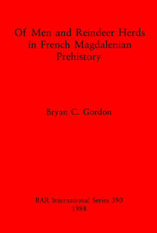 Cover image for Of Men and Reindeer Herds in French Magdalenian Prehistory