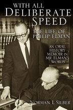 Cover image for With All Deliberate Speed: The Life of Philip Elman