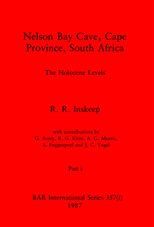 Cover image for Nelson Bay Cave, Cape Province, South Africa, Parts i and ii: The Holocene Levels