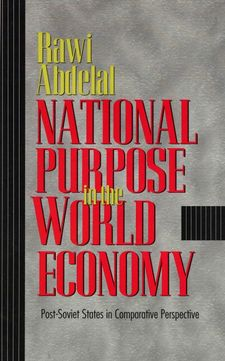 Cover image for National purpose in the world economy: post-Soviet states in comparative perspective