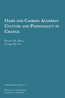 Cover image for Oasis and Casbah: Algerian Culture and Personality in Change