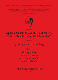 Cover image for Space and Time: Which Diachronies, Which Synchronies, Which Scales? / Typology vs. Technology: Sessions C64 and C65.
