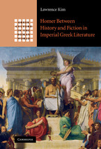 Cover image for Homer between history and fiction in imperial Greek literature