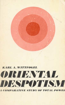 Cover image for Oriental despotism: a comparative study of total power