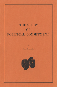 Cover image for The study of political commitment