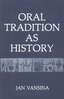 Cover image for Oral tradition as history