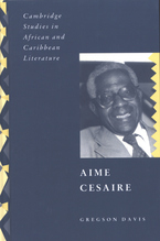 Cover image for Aime Cesaire