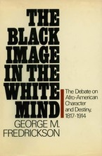 Cover image for The Black image in the white mind: the debate on Afro-American character and destiny, 1817-1914
