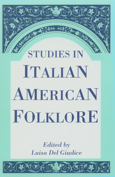 Cover image for Studies in Italian American folklore
