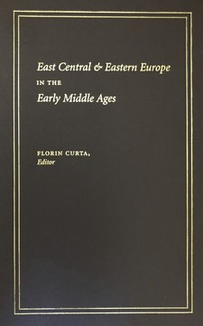 Cover for East Central & Eastern Europe in the early Middle Ages